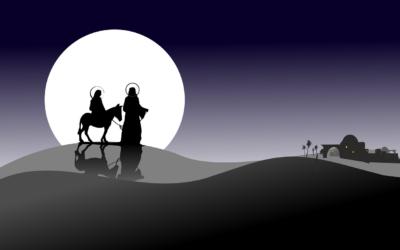 Kinder erzählen die Weihnachtsgeschichte